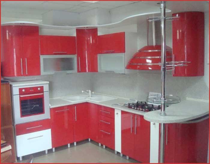 Угловые кухни фото дизайн 9 кв метров
