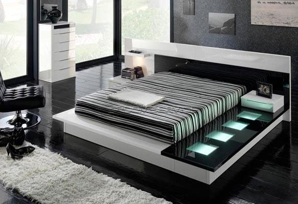 Кровать хай тек