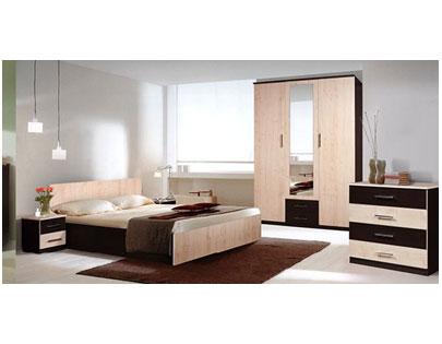 Спальня с зеркалом дизайн