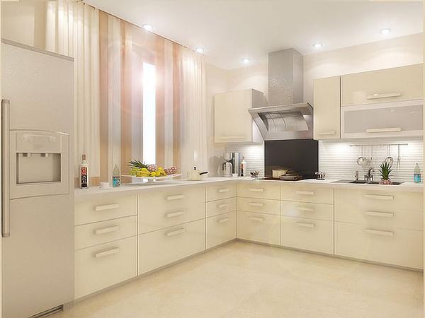Дизайн кухни кухни шоколадно
