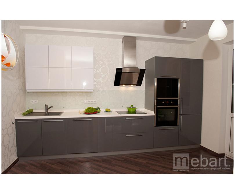 Кухни с крашеными фасадами фото