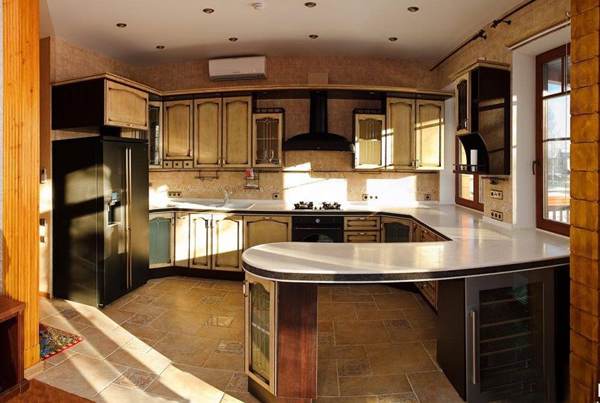 дизайн кухни фото полукруглые