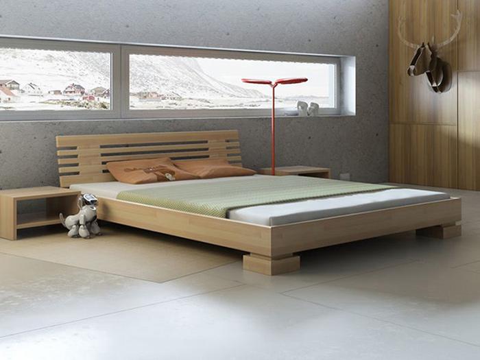 Двуспальная кровать своими руками из дерева фото