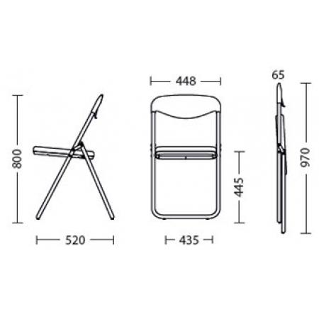 Размер (ВхШ): 800-970х520 мм.