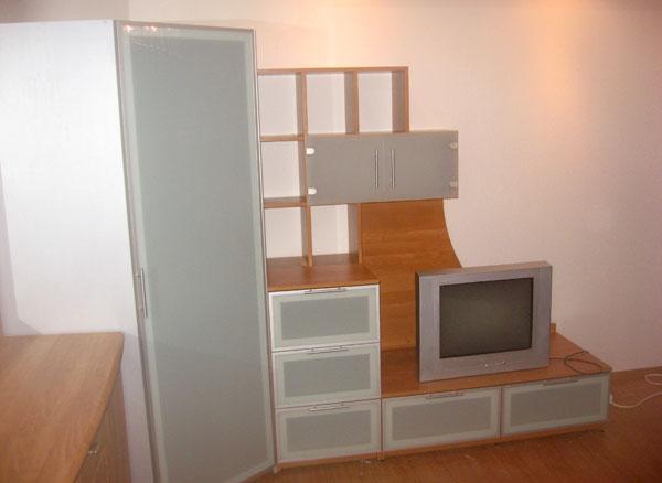 навесные шкафы под старину фото