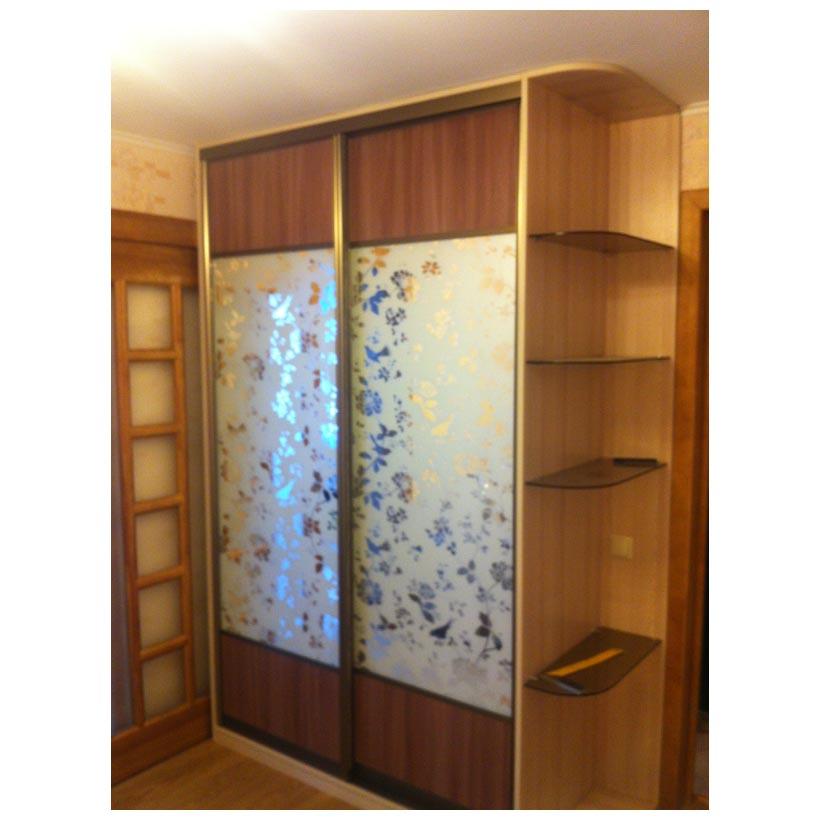 Шкаф купе с матированным зеркальным мебель на axipro.
