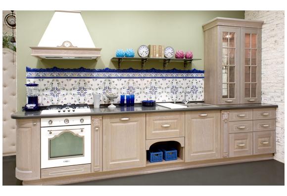 Кухня зов №21 массив ясеня мебель в