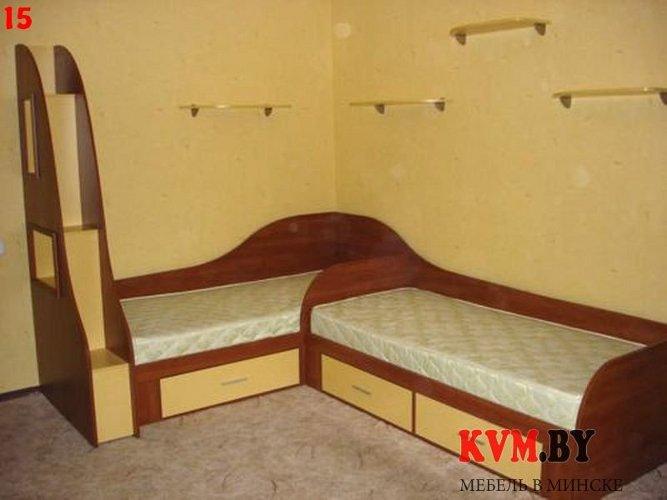 Детская с двумя кроватями фото