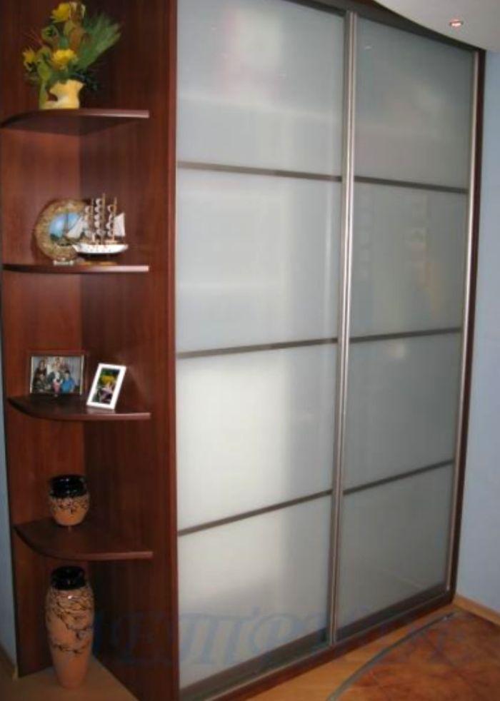 Шкаф купе матовое стекло фото