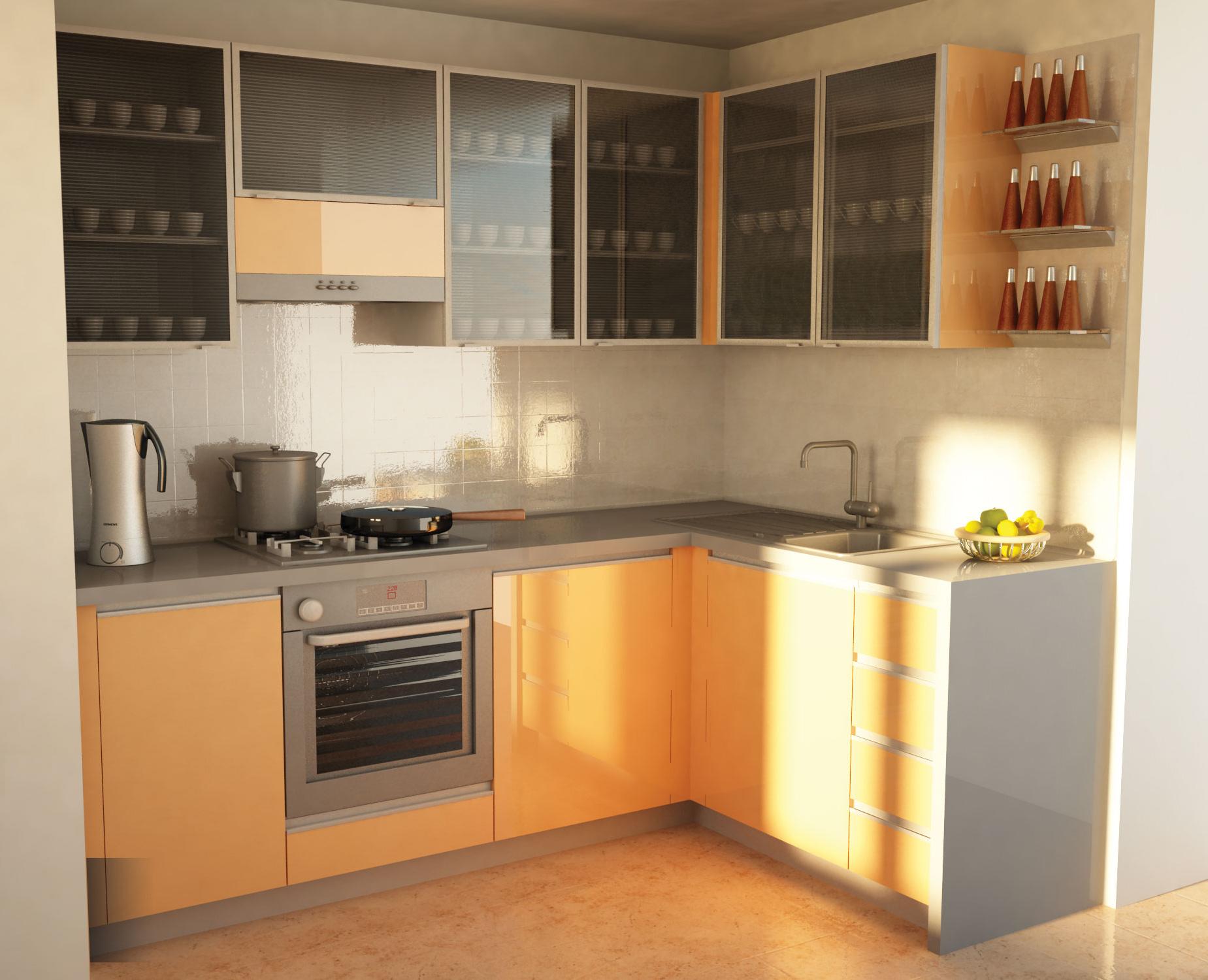 Кухня с фасадами z1 листрал мебель в