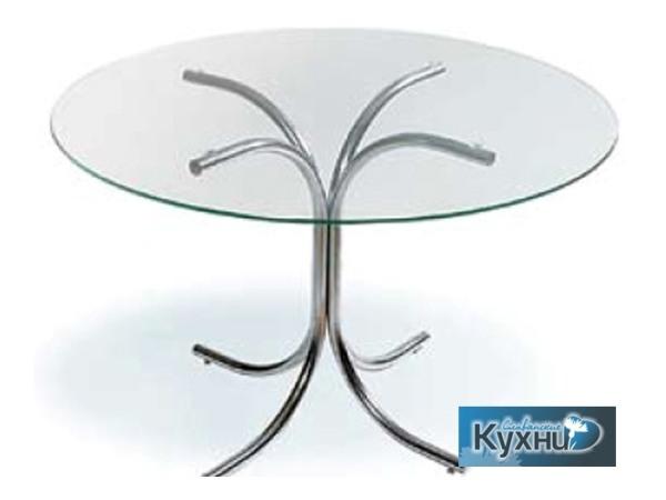 Стол обеденный стеклянный Hydra