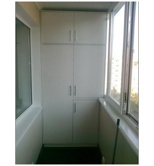 Вместительный шкаф на балкон. - наши работы - каталог статей.
