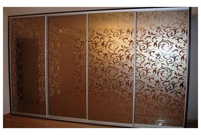 Узоры на зеркалах шкафа минск