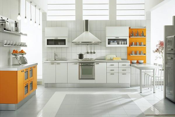 кухни угловые из пластика фото