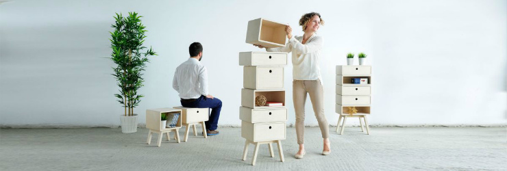 Stack furniture from designer rianne koens decor
