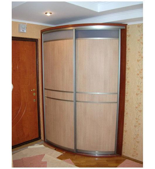 Фото: эксклюзивные радиусные шкафы-купе на заказ. мебель для.