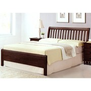 17 wooden beds