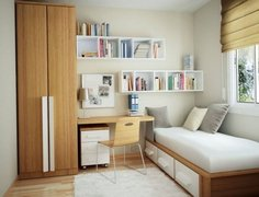 Modern small kids bedroom 9